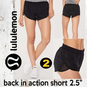 Lululemon Back In Action Short 2.5""